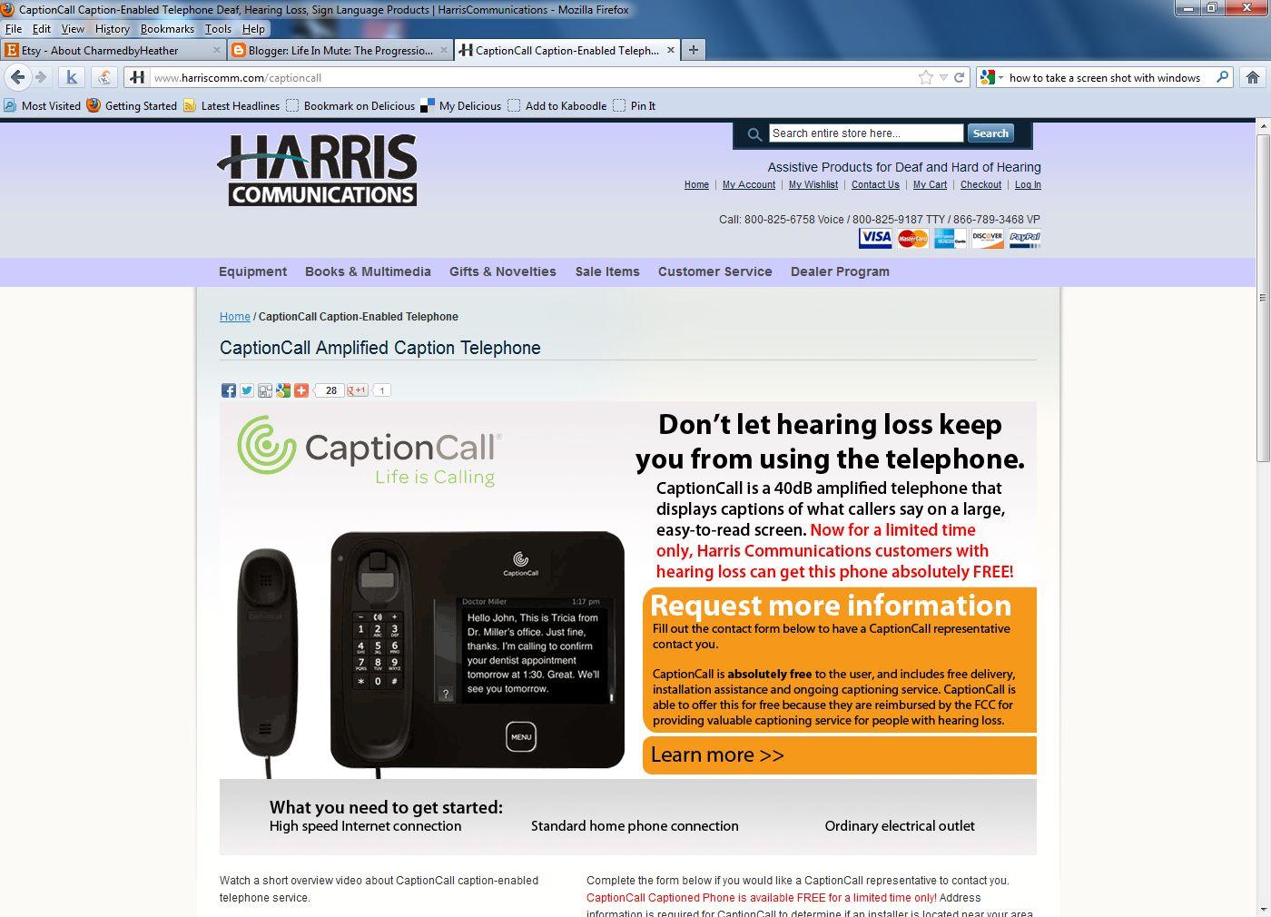 Caption Call Customer Service 3