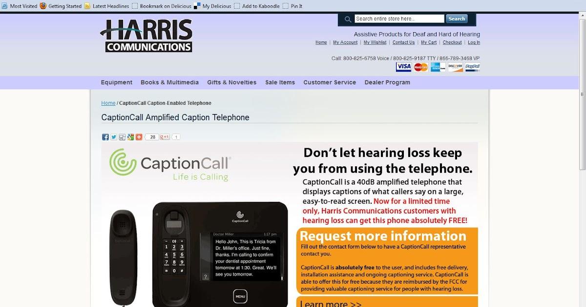 Caption Call Customer Service 1