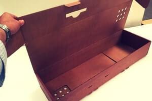 caja jamonera automoontable