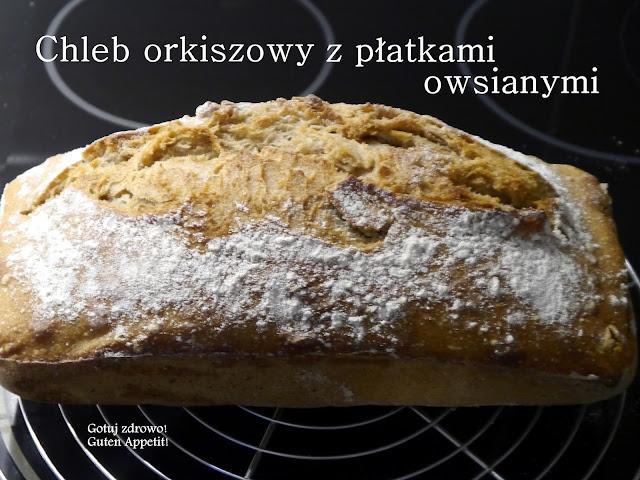 Chleb orkiszowy z płatkami owsianymi - Grudniowa piekarnia - Czytaj więcej »
