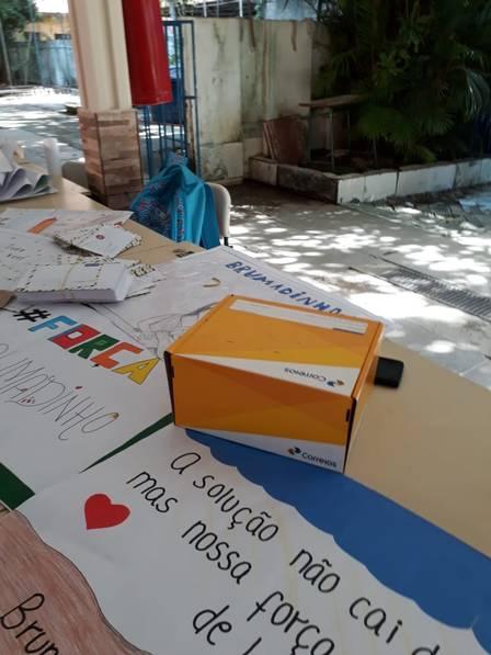 Alunos da Baixada enviam cartas com palavras de incentivo a heróis de Brumadinho 3