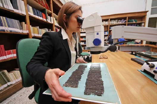 A precious papyrus of Seneca the Elder found