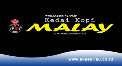 Lowongan Kedai Kopi Malay Pekanbaru Desember 2017