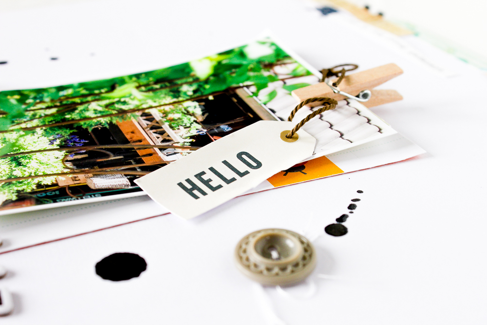 White Space als Designelement auf Scrapbooking Layouts - Janna Werner