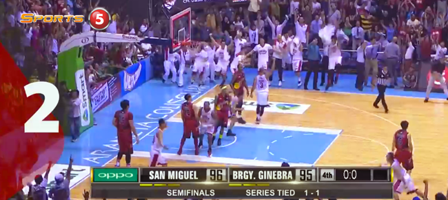 PBA Top 10 Buzzer Beaters & Game Winners of the Governors' Cup 2016 (VIDEO)
