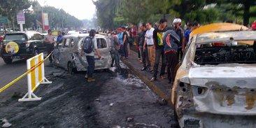 Ini Identitas Para Korban Kecelakaan 3 Mobil Terbakar Di Bintaro