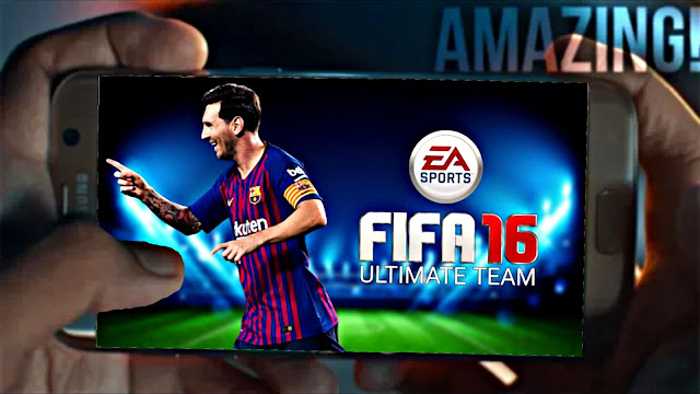 Download FIFA 16 Mobile Android 400 MB Best Graphics