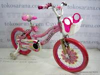 3 Sepeda Anak United Pretty Girl Aluminium Alloy Frame 18 Inci