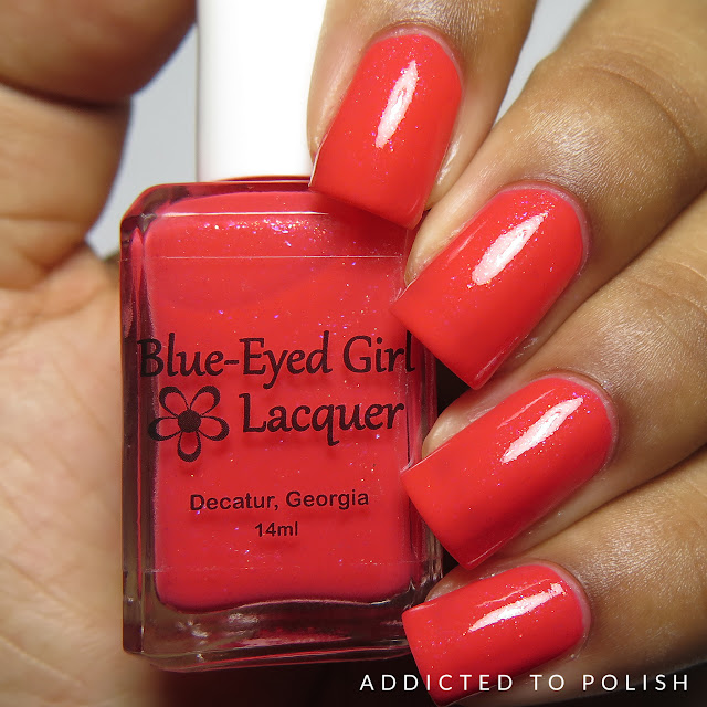 Blue Eyed Girl Lacquer Dreams of the Future Destination Duo