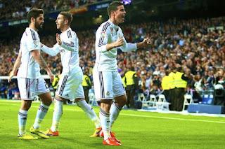 Real Madrid Gilas Malaga