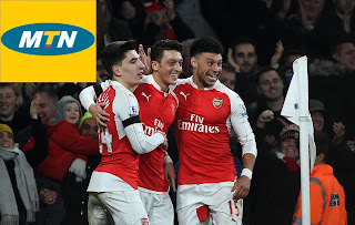 MTN Is Now Arsenal Football Club Mobile Telco Network Partner in Nigeria