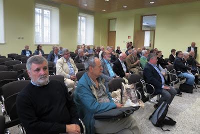 Filatélicos y presidentes de asociaciones filatélicas