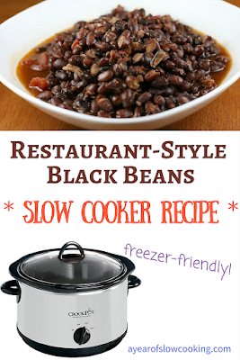 You can easily make restaurant quality black beans at home in the crockpot slow cooker. Naturally gluten free and chock full of flavor you'll never want to buy the canned stuff again!