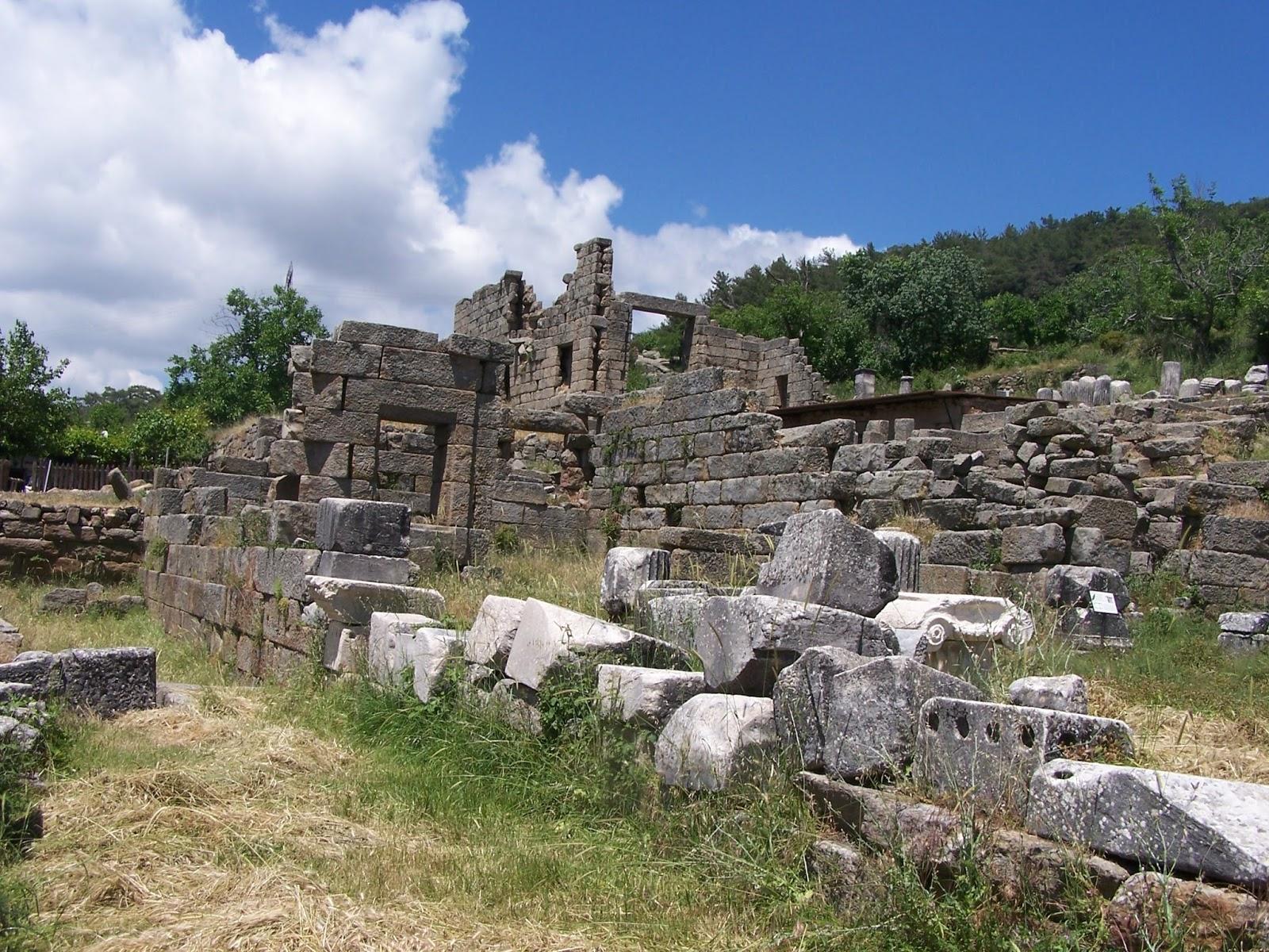 Labranda Antik Kenti Resimleri