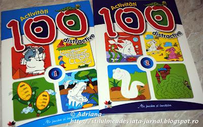 100 activitati distractive, carte Litera