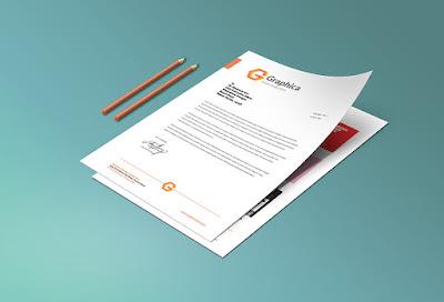 Letterhead And Paper Portfolio PSD