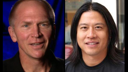 Vaughn Armstrong y Garrett Wang