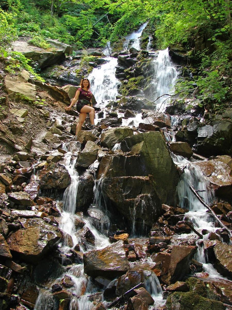 Водопад Труфанец - водопады Карпат
