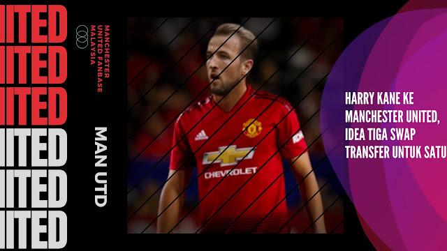 Harry Kane ke Manchester United - Idea Tiga Swap Transfer untuk Satu