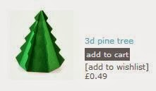 Silhouette Free Shape of the Week - Merry Christmas 1