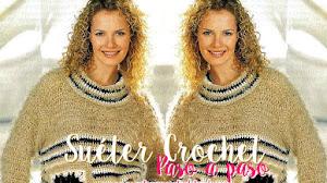 Suéter Crochet bien abrigado / Paso a paso