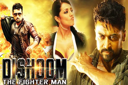Dishoom The Fighter Man 2016 Hindi Dubbed 720p HDRip