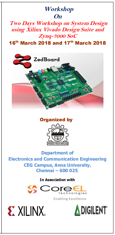 System Design using Xilinx Vivado Design Suite and Zynq 7000