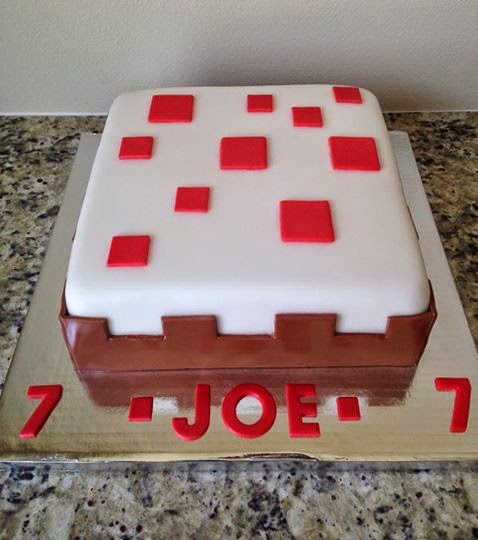 Sweet Melissa S Minecraft Cake Cake
