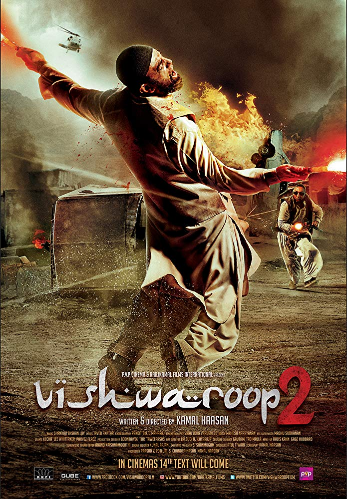 Vishwaroopam 2 (2018) NEW Hindi 350MB Proper DVDScr 480p x264