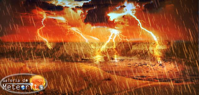 chuva de metano líquido em Titã
