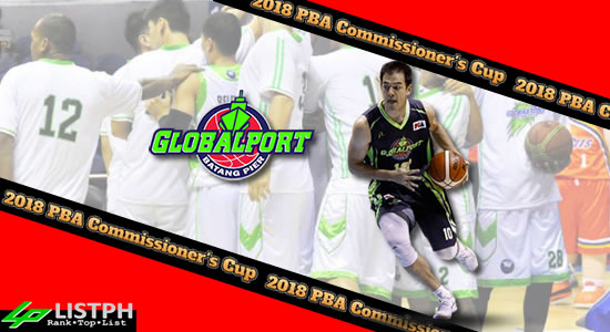 List of GlobalPort Batang Pier Roster 2018 PBA Commissioner's Cup