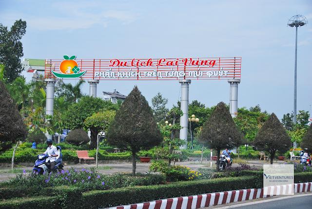 Cổng chào du lịch Lai Vung, Đồng Tháp