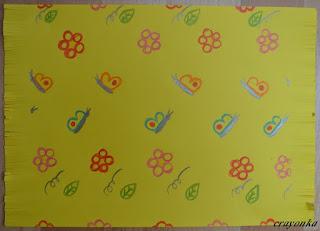 dywan w motyle i kwiaty