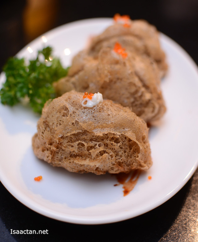 Deep Fried Yam Puff