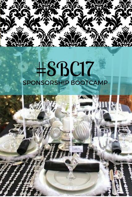 black and white tablescape - SBC17