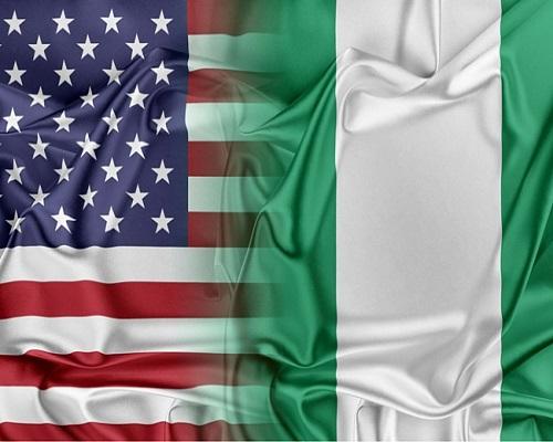 USA-Nigeria flag