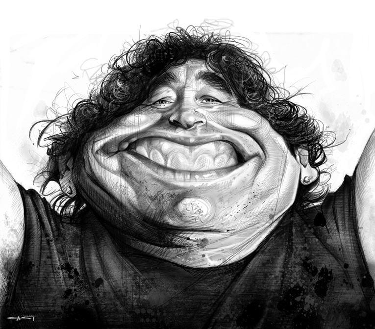 Diego Armando Maradona por Sebastián Cast