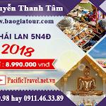 Du lịch Thái Lan xuân 2018 giá 8.990.000 VNĐ chương trình siêu chất