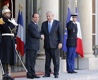 Benjamin Netanyahu and Francois Hollande