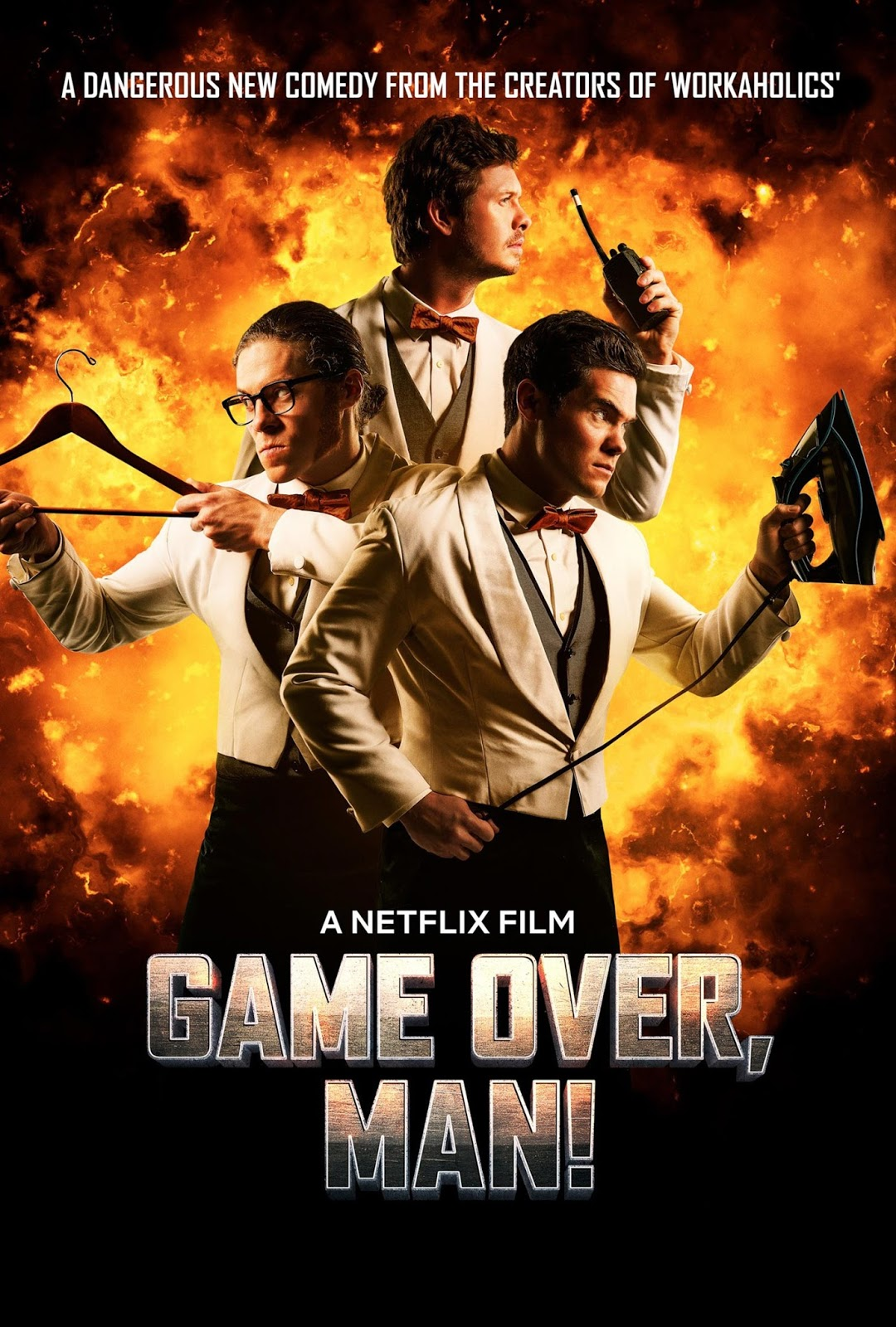Game Over, Man! [2018] [DVDR] [NTSC] [CUSTOM HD] [Latino]