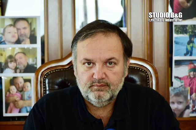 Χειβιδόπουλος: Είμαστε έτοιμοι να διαμορφώσουμε μια νέα, αποτελεσματική για την Πελοπόννησο και τους κατοίκους της συμμαχία