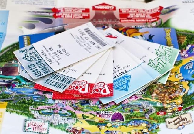 Compra de ingressos da Disney pela internet