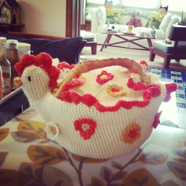Life Is Art Art Is Life Crochet Chicken Basket Henny Penny
