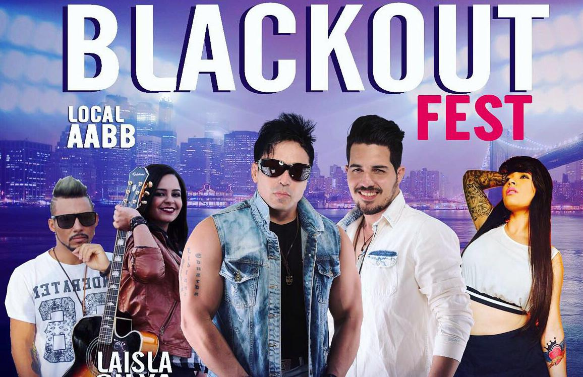 nesse sbado o Blackout Fest em Mairi  VR14  Um jeito jovem de fazer comunicao