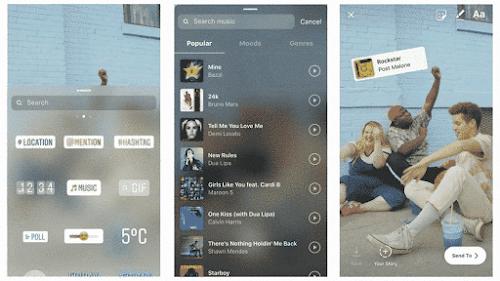 Cara Menambahkan Lagu / Musik ke Instagram Story di iPhone