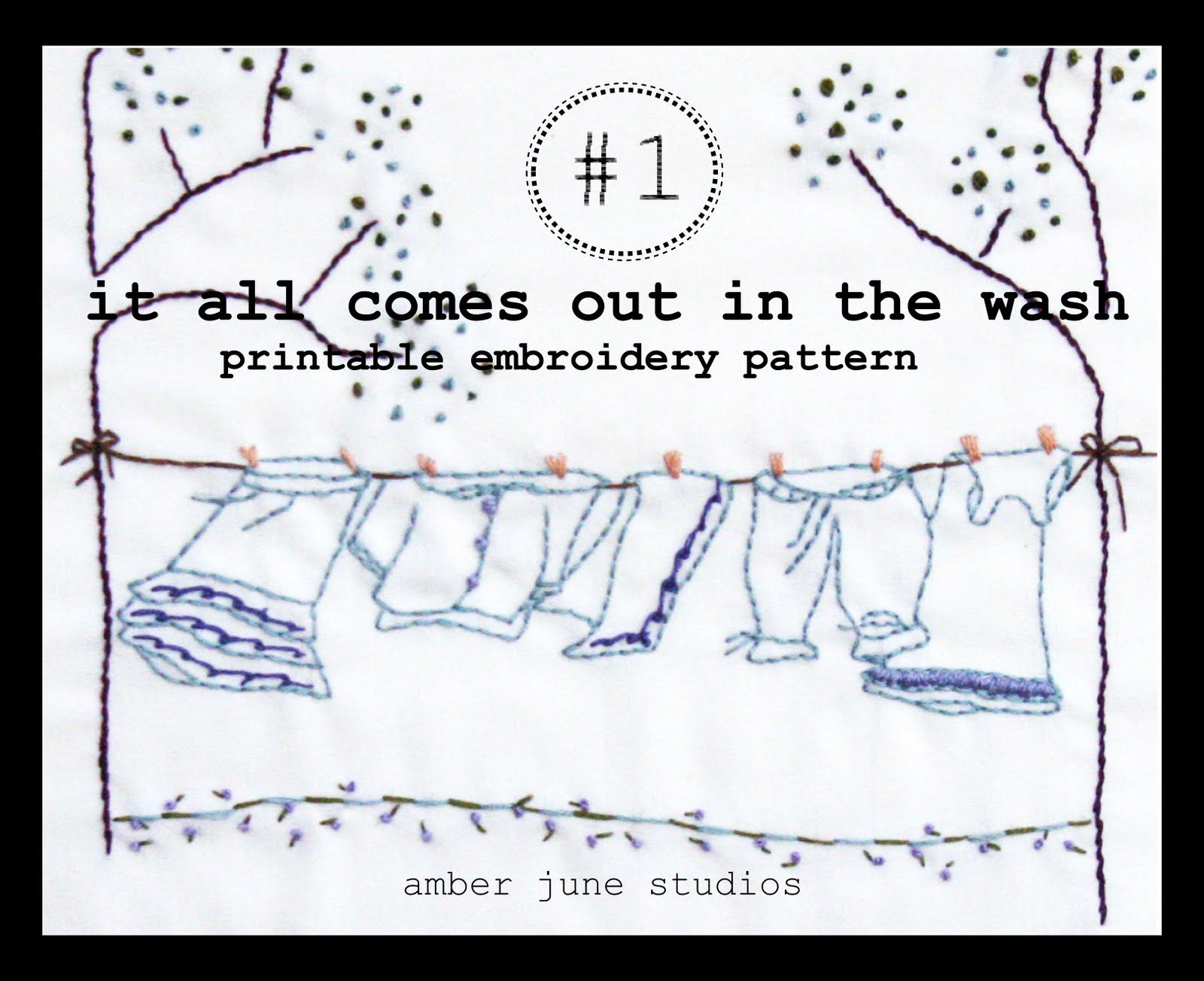 Amber June Studios Embroidery
