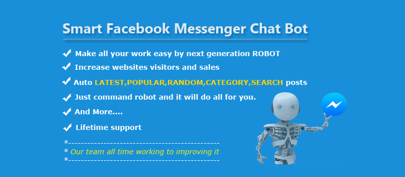 Smart - Facebook Messenger Chat Bot WordPress Plugin