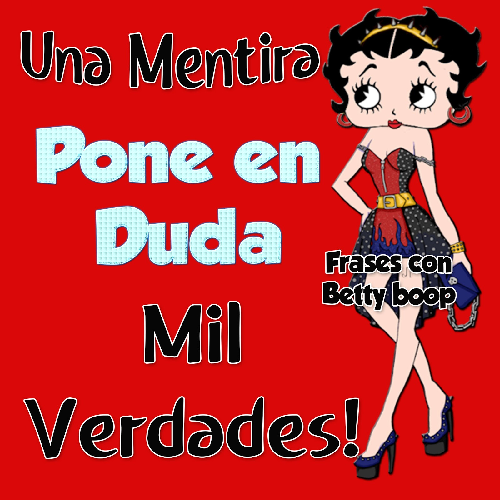 Betty Frase Domingo 14 Betty Boop Hello Foros Uniendo