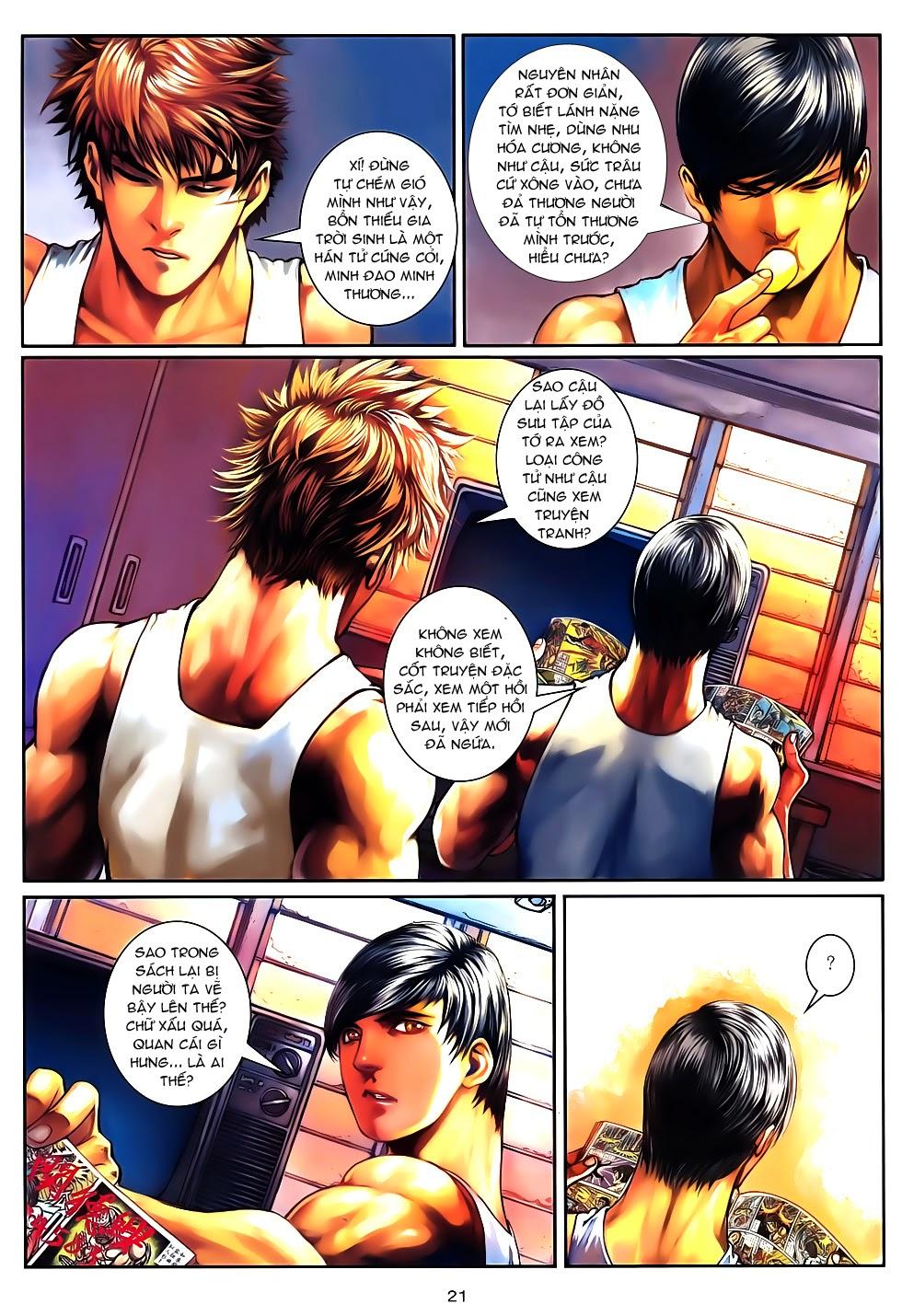Quyền Đạo chapter 10 trang 20