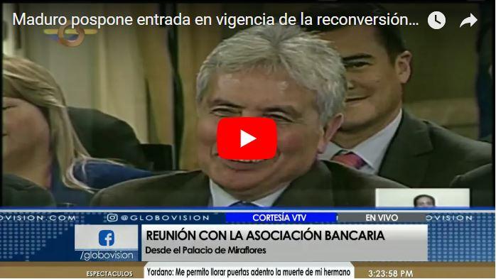 Maduro postergó la entrada en vigencia de la reconversión monetaria